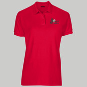 Ladies Dri Blend Pique Polo