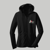 Ladies Stretch Zip Up Hoodie